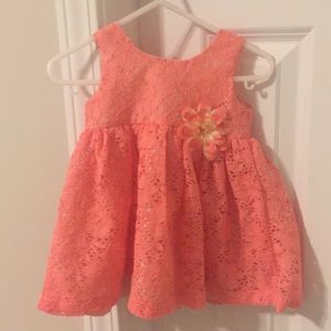 Blueberi Boulevard coral dress